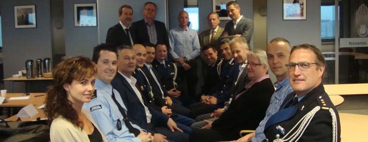Professionals van Politie, KMar, Justitie en Douane volgen enthousiast de B.U.C.-leergang 2014-2015