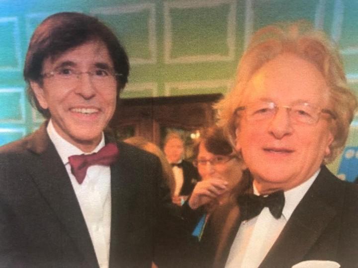 Burgemeester en ere-premier Elio di Rupo en prof. Anton van der Geld
