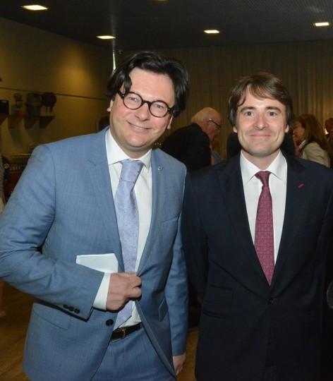 Academische zitting Eindhoven: dr. Pieter van der Geld en Prins Albert-Henri de Merode