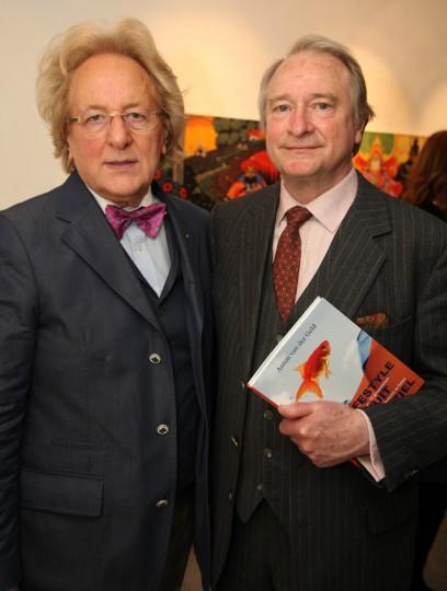 Prof. Anton van der Geld en Prins Charles-Louis de Merode