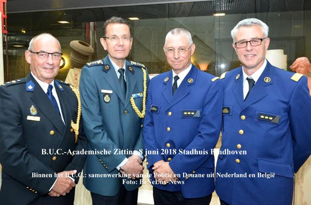 Samenwerking Politie, Justitie en Douane binnen het B.U.C.