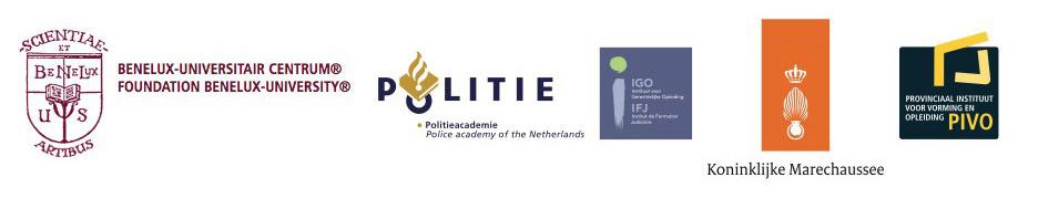 De vijf samenwerkende organisaties in de veiligheidsketen in de Benelux